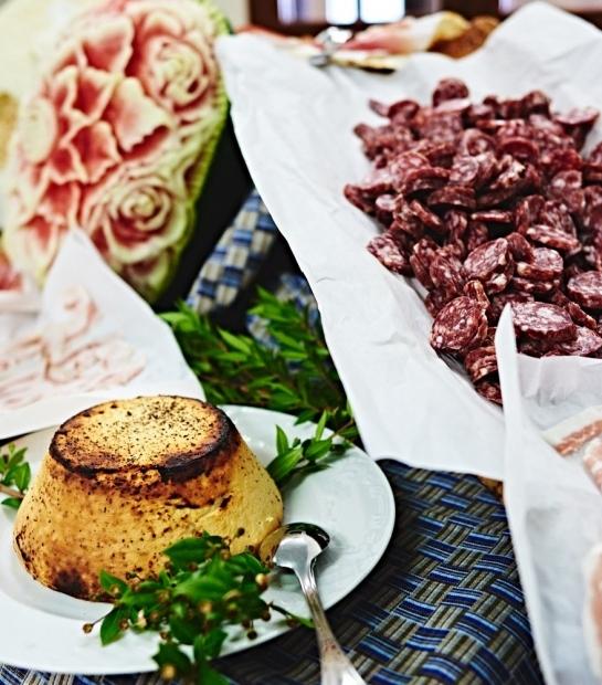Salumi e formaggi Cala Gonone